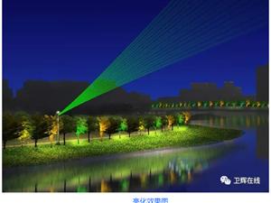 【独家】卫辉大型灯光音乐喷泉,春节夜空闪亮你的眼!