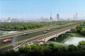 """好消息!洪泽城区东风桥改建即将开始,新桥设计图就三个字""""高大上""""!"""