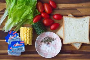 奶油时蔬沙拉