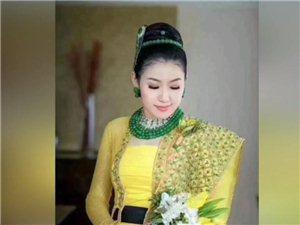 缅甸土豪嫁女:全身翡翠价值5亿;伴娘每人一条满绿项链