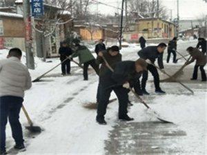 雪后新风:安新中六村见闻