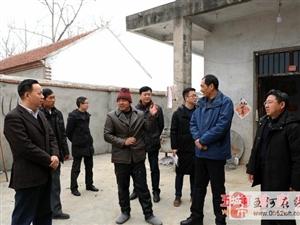 美高梅注册县县委书记吴道俊到双忠庙镇检查指导脱贫攻坚工作