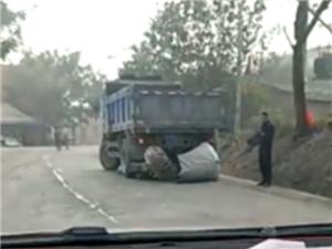 高州石鼓过桂山路段一人被卷入车底