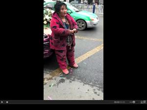"""阜阳街头乞丐""""横行"""",如此长久不文明!谁来管?"""
