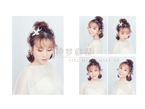 福州新娘化妆造型、新娘化妆造型培训、婚礼跟妆师培训