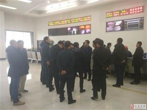 环保部大气司副巡视员吴险峰  在吕梁市调研大气污染防治工作
