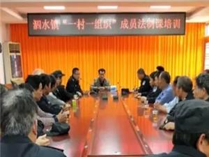 """高州泗水镇开展""""一村一组织""""法制培训班,加强群防群治力量"""