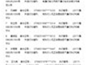 山东省邹城市人民法院失信被执行人曝光名单