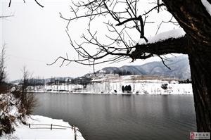 2018第二场雪――金牛岭水库