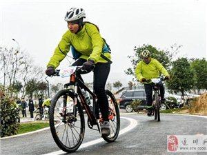 遂川:168名选手红色骑游