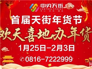 【中央天街】年货节,不去后悔到明年!