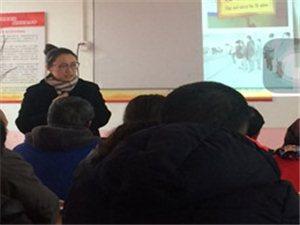 教授来南刘庄绿化班讲课