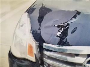 高州:小车斑马线前不减速,一行人被撞后抢救无效身亡!