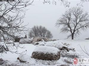 一夜大雪,我去了我想去的那个山村