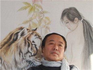 王清彪的国画作品与习作
