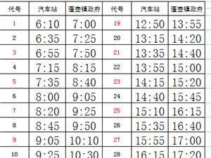 闽兴公交关于调整9路城乡公交运营的公告