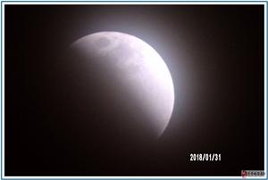 随手拍:2018年1月31日月食