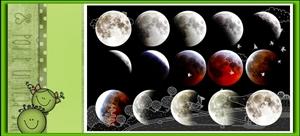 七绝・红月亮