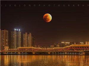 【�z影分享】全��最佳月亮照出�t:天人合一