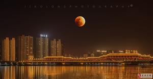 【摄影分享】全国最佳月亮照出炉:天人合一