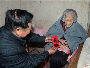 金山大王爷庙筹建会向592位年逾八旬老人派发红包