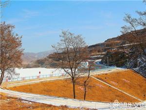 张家川在线走进冬日的张棉驿石峡水库采风摄影!