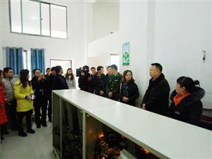 广安区政府副区长胡勇带队开展高层 建筑消防安全专项检查