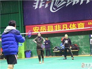 """安岳非凡体育""""迎春杯""""羽毛球男女混合团体追逐赛,燃化这个冬天!"""