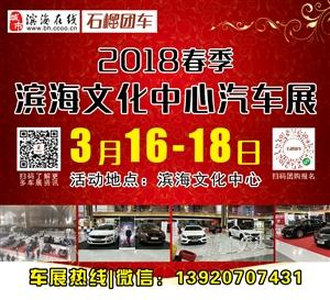 2018春季;滨海文化中心汽车展