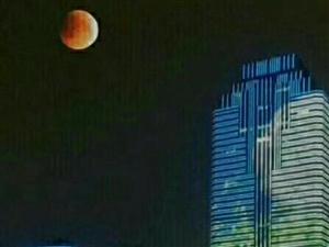 百年难遇的满月已经远去!