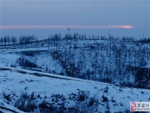 在白石咀牧场带你领略林海雪原的北国风光