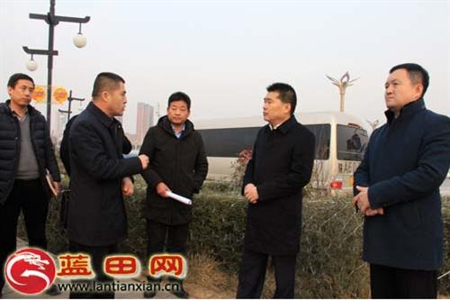 县委书记陈顺利检查迎春灯会安全生产工作
