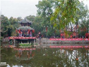 【飘视觉】广汉房湖公园、金雁湖公园装点一新迎接保保节的到来(组图)