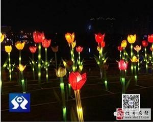 新春灯会流光溢彩 尽显客家年味