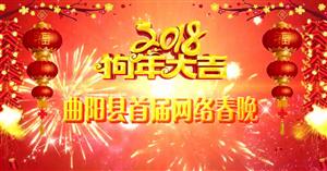 曲阳县首届网络春晚;老百姓自己的春晚