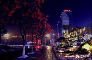 【大师作品】夜幕下的宿州,美轮美奂啊!