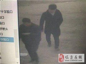 临泉两男子撞倒老人后逃逸,20000元悬赏……