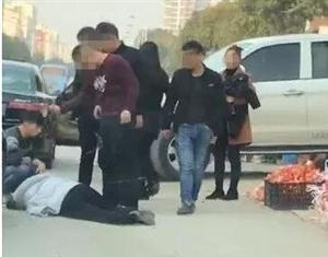 大街上动手打人,一男子要在拘留所过新年!