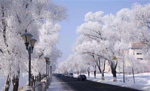 雪景是一个既清纯,又浪漫的一种自然景象,不同的雪。依据雪的形态,雪景可