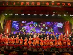 """2018年""""春满天镇""""春节联欢晚会精彩上演"""
