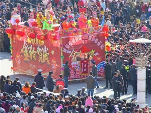 中国大关山摄影俱乐部、张家川在线拍摄张家川县正月十四社火