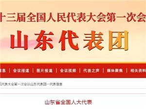 邹城1位,山东175名全国人大代表信息公布,邹城竟然是他?