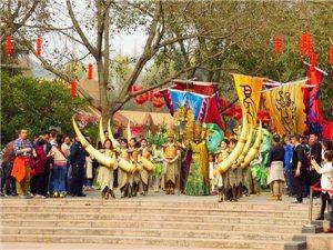 """【原创】正月十六保保节,三星堆博物馆举行""""保保""""祈福祭活动"""