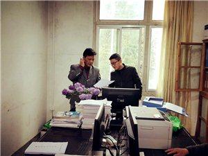 从江教育局对往洞中学进行开学初检查