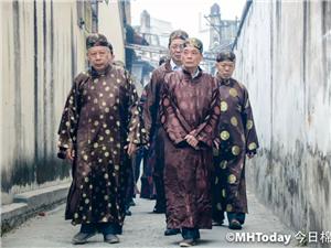 正月十九棉湖花园功福神庙举行游神活动,祈求合境平安