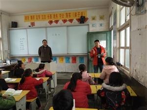 从江县教育督查组深入云上加鸠检查开学工作情况