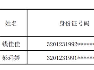 六合区科学技术协会招聘编外工作人员拟聘用人员名单公示