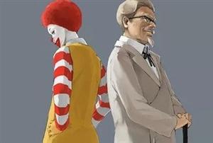 肯德基对面是不是一定有麦当劳?