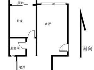 出售温泉花园 两居室 现房 毛坯南北通透带电梯