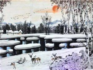 【巴彦网】走进新时代 文化新传承―著名画家高凤德-巴彦家乡画家